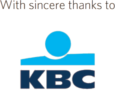 With sincere thanks to KBC