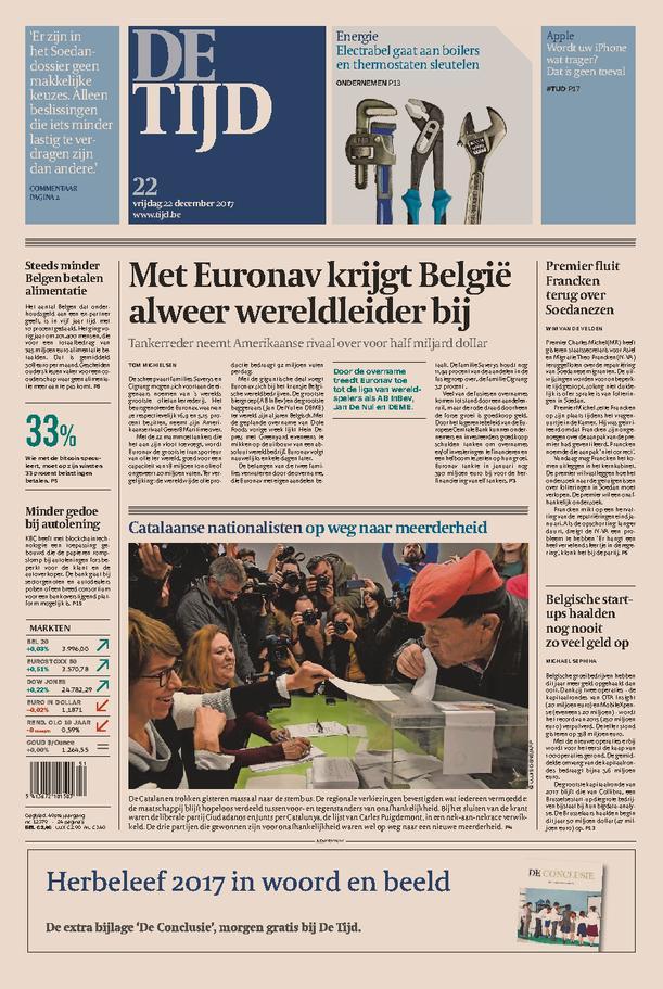 De Tijd - Krant Online